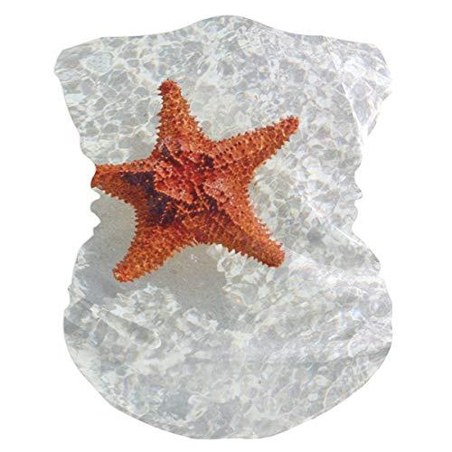 (Starfish In The Sea Headband Womens Bandana Multifunctional Mens Balaclava, Neck Warmer, Face Mask, Helmet Liner Foulard)