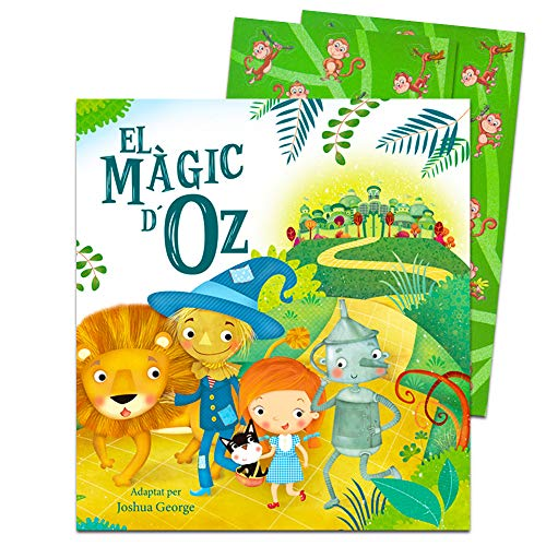 The Wizard of Oz -- Board Book for Baby Toddler (Includes Bonus Monkey Stickers)