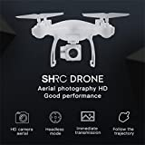 Dirance RC Quadcopter Drone, 4 Channel 6-Axis 3D Flip 720P WIFI FPV Live Video HD Camera Helicopter, Headless Mode & One Key Return & Altitude Hold (White)