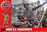 Airfix A02711 1:32 Scale US Paratroopers Figures Classic Kit Series 2