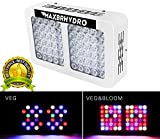 600W LED Grow Lights 12-band Full Spectrum Plant Growing Light with UV/IR for Veg and Flower