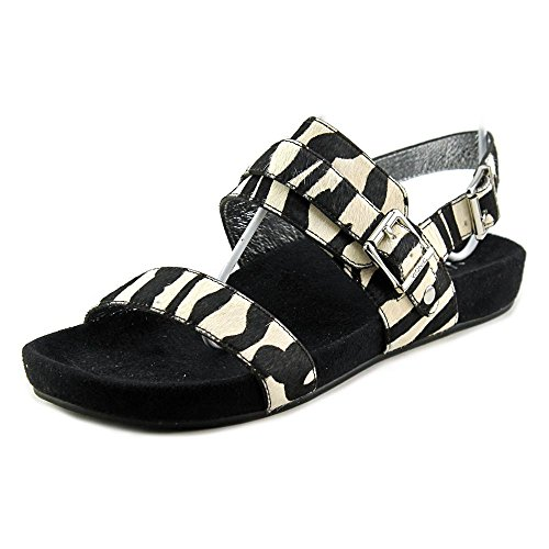 278db0aa8538 Vionic with Orthaheel Technology Womens Jura Slide Sandal Black Zebra Size  8.5