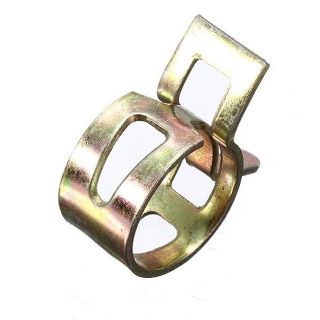 OSAYES la Bande 6-15mm Printemps 10pcs Carburant Hose Clips extraits du Tuyau de Pipe /à Eau Tube Vide Le Collier de Silicone dair