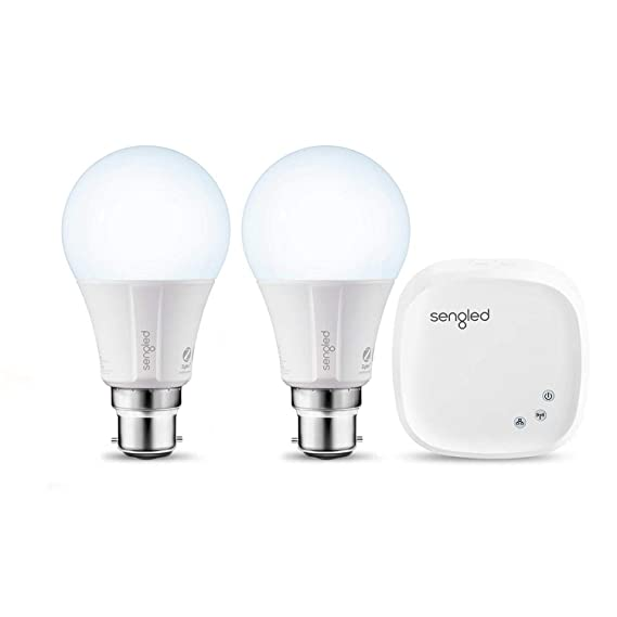 Sengled Element Classic E11- G33P Z02-hub 60-Watt Equivalent Smart LED Daylight Bulb Kit