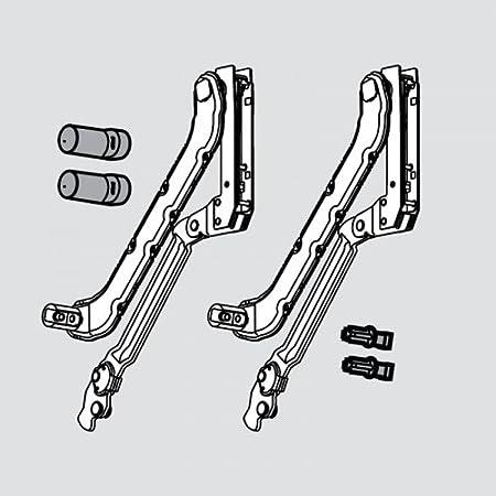 Blum Kit Complet De Bras Pour Systeme De Porte Relevable Aventos