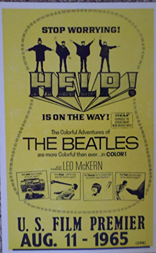The Beatles Help Is on the Way Movie Poster Print