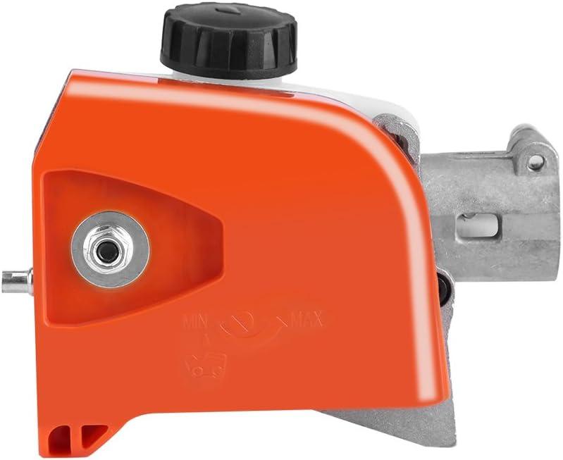 Cabeza de la Caja de Engranajes de la Motosierra, 26 mm Conjunto de Engranajes de 9 espigas para Sierra de podar Cortador de Cepillo de poda Cortador de árbol de podadora de setos(#1)