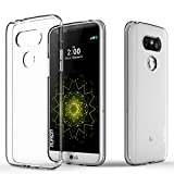 LG G5 Case, PLESON [TOU] LG G5 Case Cover, Super-Thin Premium Crystal Clear Case G5 Lightweight/NO Bulkiness/Shock Absorption/Scratch Resistant Soft TPU Protective Bumper Case for LG G5 (2016)