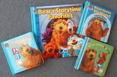 Read Online Set of 4 Bear in the Big Blue House Books - Bears Storytime Favorites - Bear Loves Colors - Bear Loves Visitors - Bear Loves Letters PDF