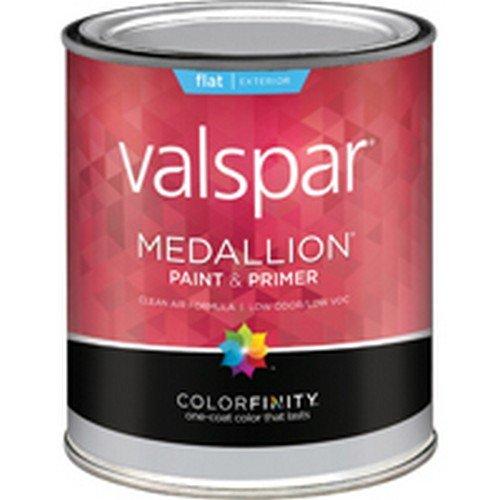 (Medallion 27-45502 QT 1 Quart Flat Tint Base Medallion Exterior Latex House Paint)