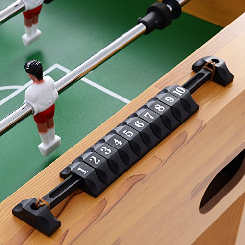 Giantex Foosball Soccer Table 47'' Competition Sized Arcade Game Room Hockey Family Sport by Giantex (Image #4)