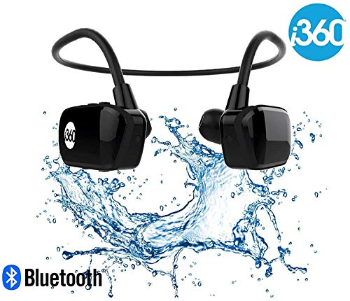 i360 Bluetooth 8GB Waterproof MP3 Player Earphones Earbuds Headphones Headset...