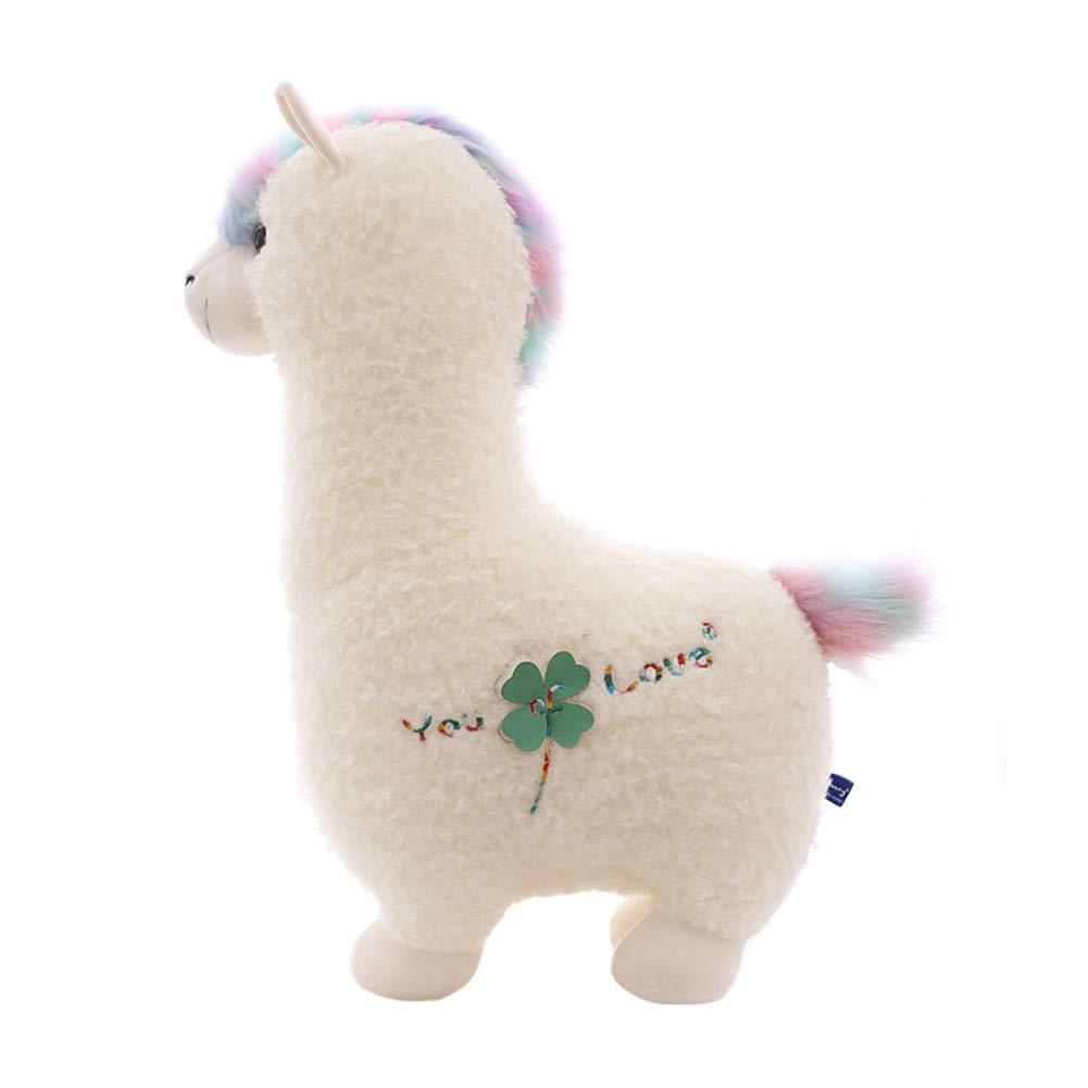 bienvenido a comprar 100CM HYANF Lindo Alpaca Peluche de Juguete de Almohada, Almohada, Almohada, Muñeca Animal de Relleno Suave, Adecuado para Niño Niña Cumpleaños y Decoración de Sofá para el Hogar  aquí tiene la última