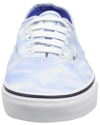 Authentic Palace Adulte Mixte Dye Bleu Sneakers Tie Blue Vans SqvHngAH