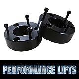 """Prime Choice Auto Parts LK2451L3AB Front 3"""" Aluminum Black Lift Kit 2WD/4WD"""