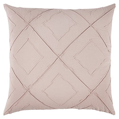 Rizzy Home Decorative Polyester Filled Pillow Deconstructed Diamond Decorative Pillow 20