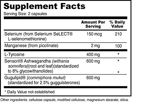 Thyroid Helper - Natural Supplement for Metabolism, Energy, Thyroid Support (180 Capsules)