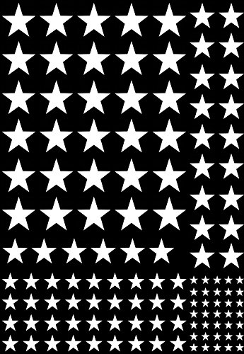 Fusible Decal - Stars 1/8