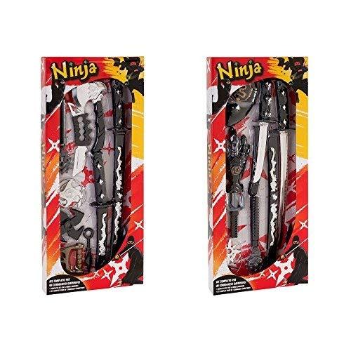 Globo Toys 37510 - Juego de Armas Ninja con Espada y ...
