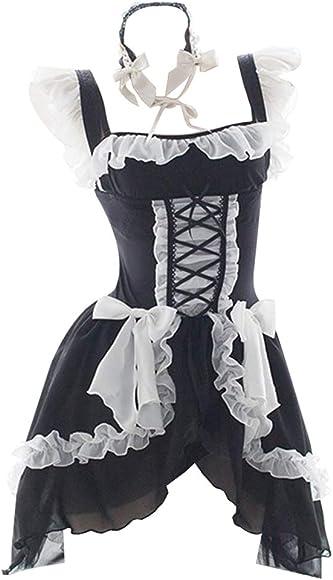 Amazon.com: YOMORIO Lolita - Vestido gótico de gasa para ...