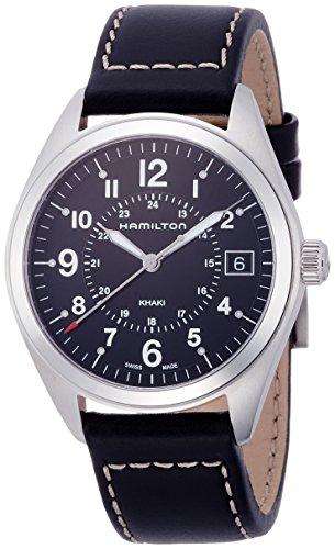 ساعت مچی مردانه همیلتون مدل H68551733 با بند چرمی