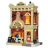 Lemax Leo's Famous Pizzaeria Village Building Multicolored Porcelain 1 pk