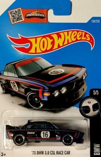 Bmw Csl Wheels - Hot Wheels 2016 - '73 BMW 3.0 CSL Race Car (Black) N Case #190 .HN#GG_634T6344 G134548TY65438