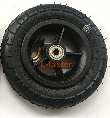 150MM Scooter Inflation Wheel With Aluminium Alloy Hub 6
