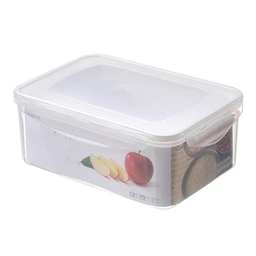 Los recipientes herméticos de Almacenamiento de Alimentos con Tapa ...