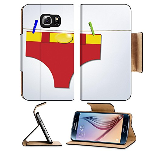 liili-premium-samsung-galaxy-s6-flip-pu-leather-wallet-case-hero-pants-hanging-on-clothesline-laundr
