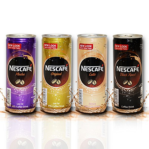 Nescafé Can MOCHA (8 Cans) On-the-Go Iced Coffee Drink In