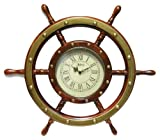 MARINERS WHEEL WALL CLOCK BY INFINITY