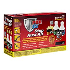 The POR-15 3-Step Stop Rust System is designed to stop rust on metal surfaces and ensures the best results when applying POR-15 Rust Preventive Coating. The clear-cut process allows for the proper cleaning, prepping, and coating of metal to c...