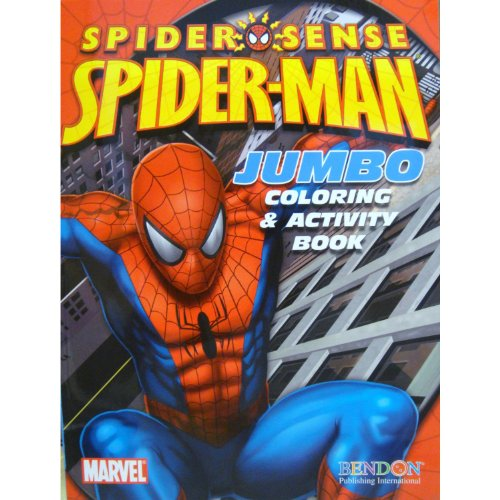 Spider-Man Coloring & Activity Book (Cover Art May Vary)
