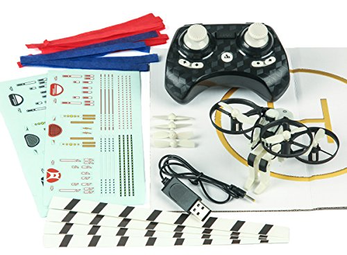 Rage RC Jetpack Commander Ready to Fly Multirotor, White