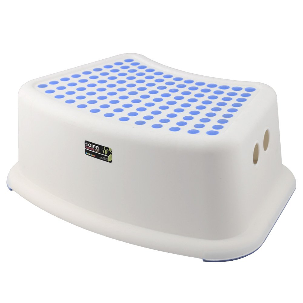 Aojia Children's Slip Resistant Step Stool Weight:15.80 Ounces, Width: 12.2  Depth: 7.5  Height: 5.1 QYF1553