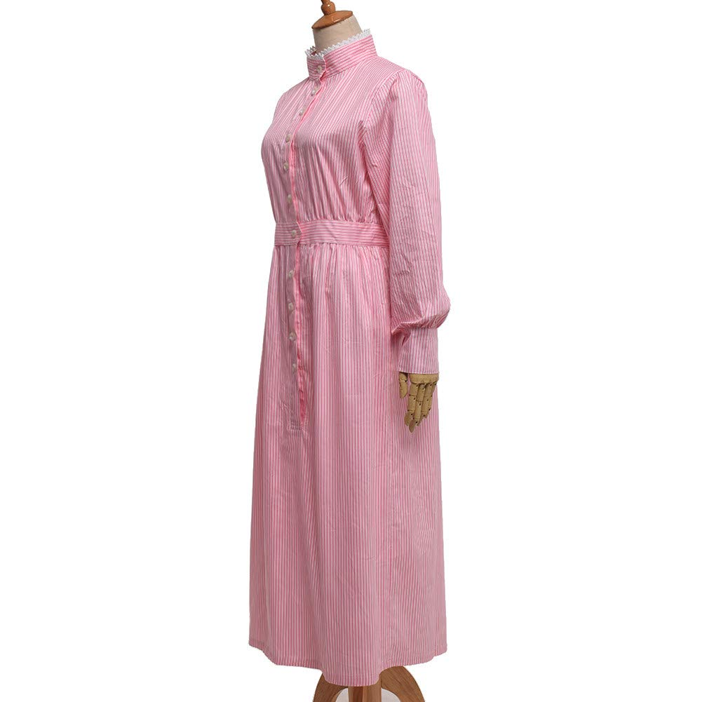 1900s, 1910s, WW1, Titanic Costumes GRACEART Pioneer Women Costume Prairie Dress 100% Cotton $39.00 AT vintagedancer.com