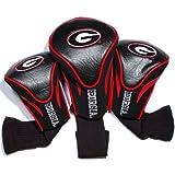NCAA Georgia Bulldogs 3 Pack Contour Golf Club Headcover