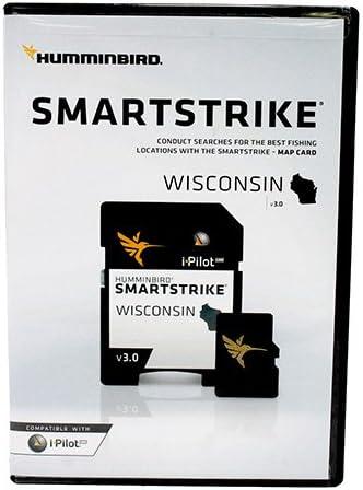 Version 2 w// Full Lake List Humminbird 600025-6 LakeMaster Wisconsin Edition
