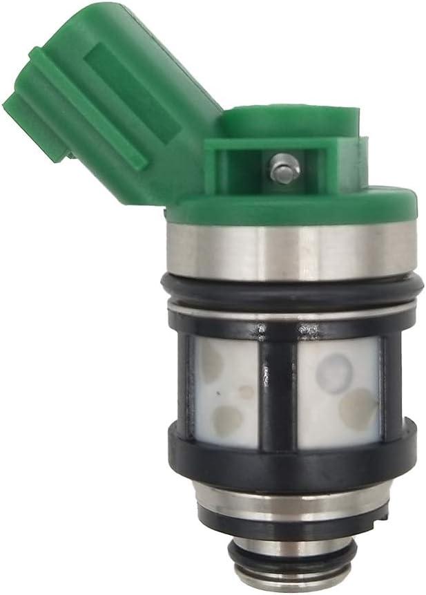JESBEN FJ397 4Pcs Set Fuel Injectors Nozzle 1 Hole Replacement for Frontier KA24DE 2.4L 1998-2004 Xterra 2.4L 2000-2004 Pickup 2.4L 1996-1997 Altima 2000-2001 16600-1S700 JS4D-5