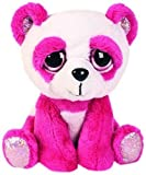 Lil Peepers Fun Orchid Pink Panda Plush Toy with Pink Sparkle Accents (Medium)