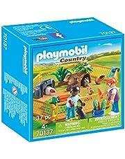 Playmobil 70137 Country Small Farm Animal Enclosure Playset (37 Piece)