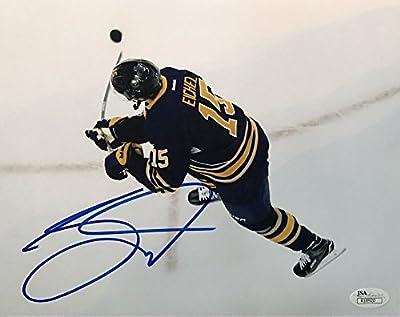 Jack Eichel Signed 8x10 Buffalo Sabres Photograph - JSA Certified Certified