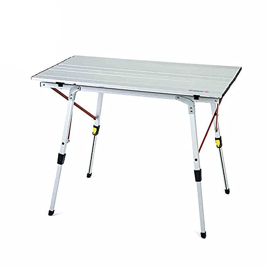 LNNZML Mesa Plegable de Aluminio Portable Camping al Aire Libre ...