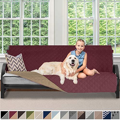 (Sofa Shield Original Patent Pending Reversible Futon Slipcover, Dogs, 2