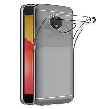 Funda Motorola Moto E4 Plus, AICEK Transparente Silicona Fundas para Moto E4 Plus Carcasa Silicona
