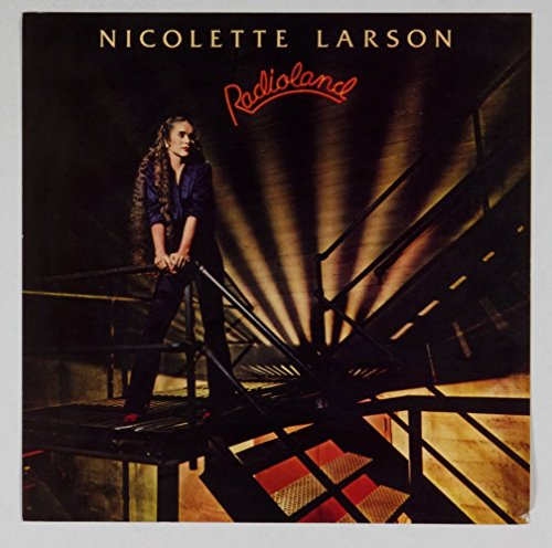 Nicolette Larson Poster Flat Radioland 1980 Album Promo Vintage 12x12