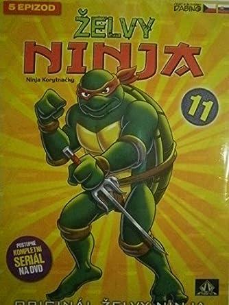 Amazon.com: Zelvy Ninja - 1. serie DVD 11 (Teenage Mutant ...