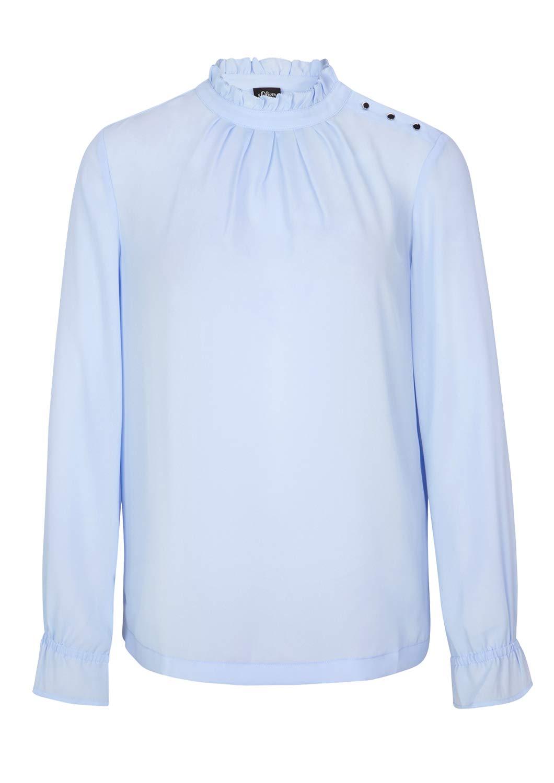 s.Oliver svart etikett dam blus Blå (leende blå 5061)