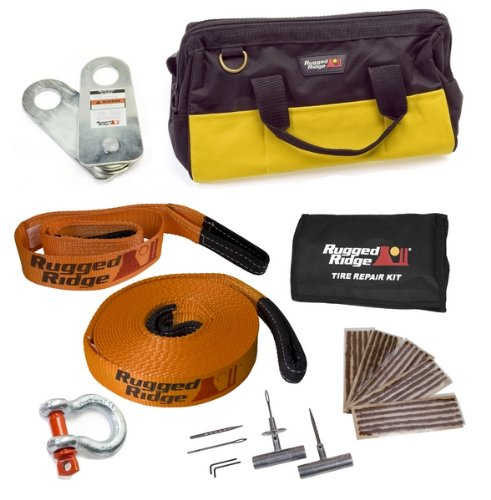 Rugged Ridge 15104.27 Lite ATV/UTV Recovery Gear Kit by Rugged Ridge